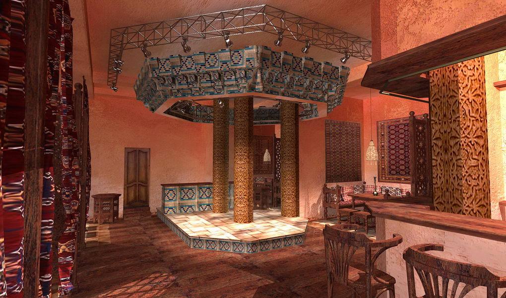 Интерьер узбекского дома фото
